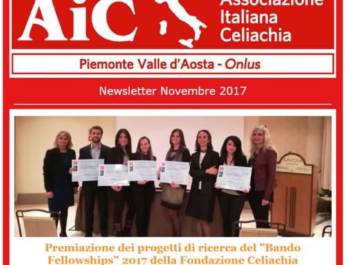 Newsletter Novembre 2017