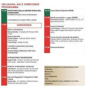 programma Aosta 6 giugno