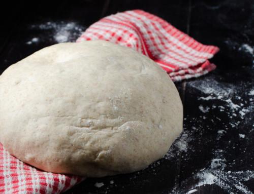 Impasto base per pane, pizza o focaccia senza glutine