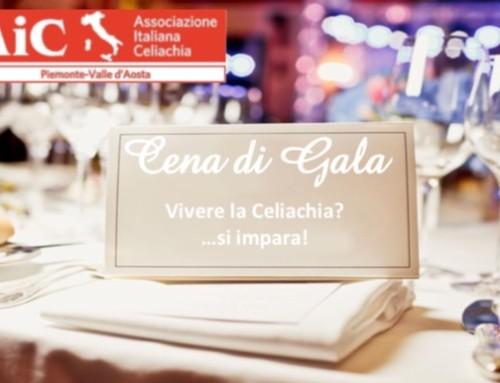 Vivere la Celiachia?…Si impara! – Cena di Gala il 2 dicembre 2016