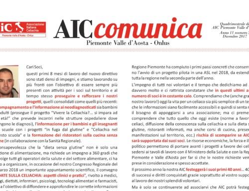 AIC Comunica Dicembre 2018