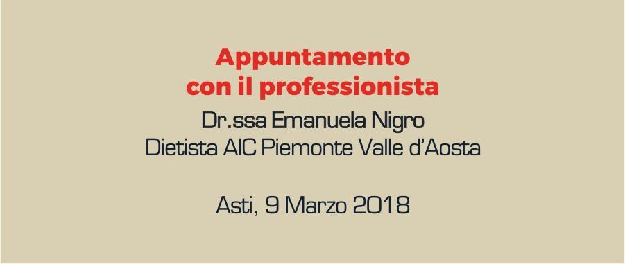 """""""Appuntamento con il professionista"""" ad Asti"""