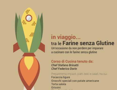 """In viaggio… tra le farine senza glutine – corso """"Mani in Pasta"""" a Torino il 20 marzo"""