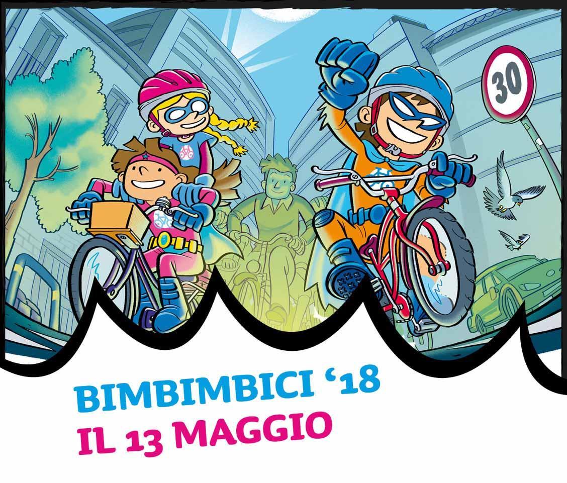 Bimbinbici 2018 ad Alessandria