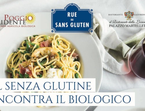 """5 ottobre 2018 """"Il Senza Glutine incontra il Biologico"""""""