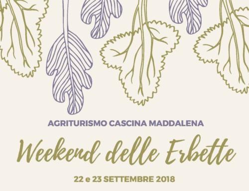 """22-23 settembre 2018 """"Weekend delle Erbette"""""""
