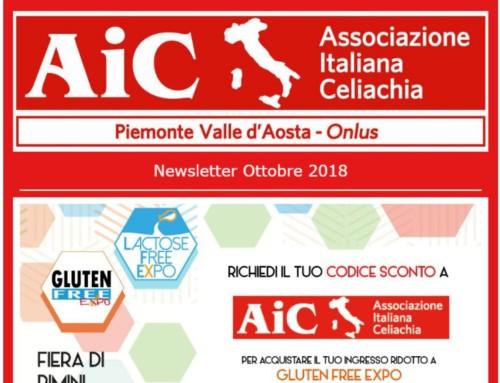 Newsletter Ottobre 2018