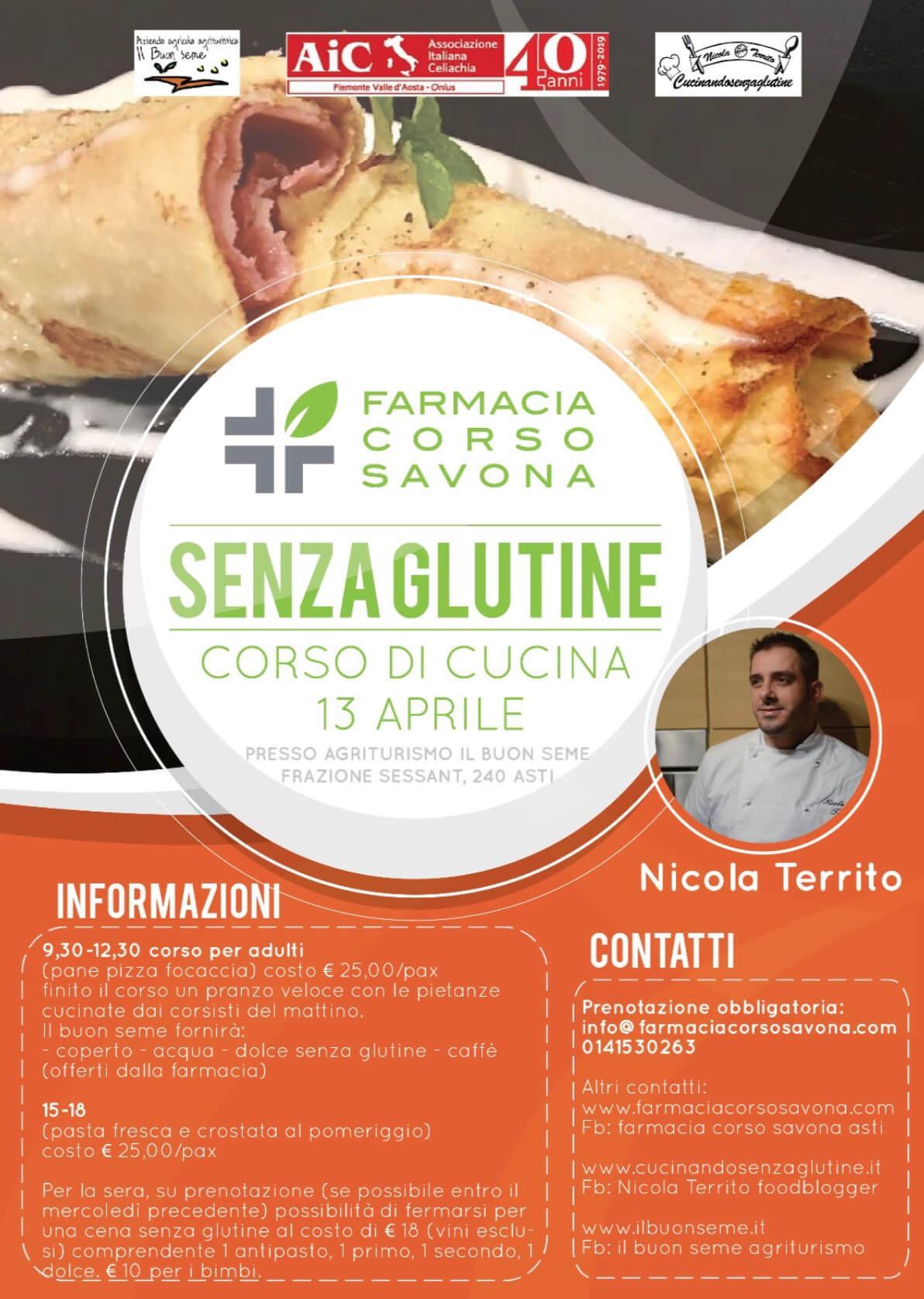 Corso di Cucina Mani in Pasta ad Asti (AT) il 13 aprile 2019