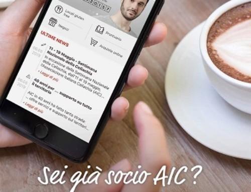 AIC mobile: da giugno la app al servizio degli associati