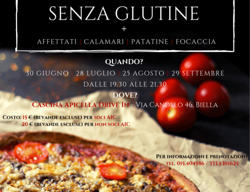 Giro Pizza d'estate Senza Glutine