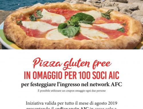 Pizza Senza Glutine in omaggio da Rossopomodoro Settimo Cielo