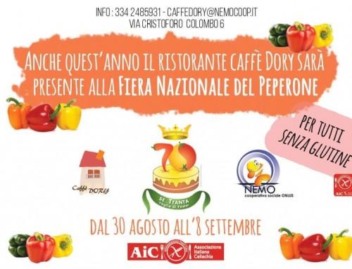 Caffè Dory alla Fiera Nazionale del Peperone di Carmagnola