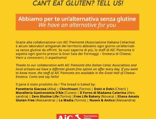 Pane senza glutine a Cheese
