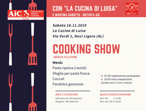 Cooking Show Senza Glutine – La Cucina di Luisa (AL)