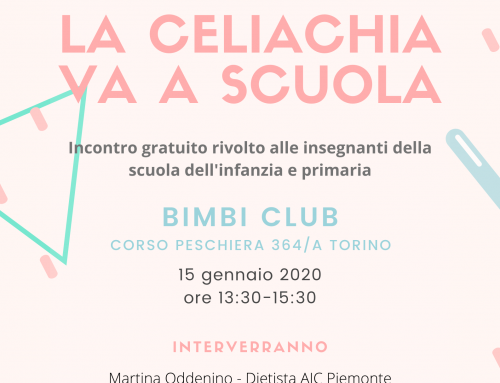 La celiachia va a scuola – Torino