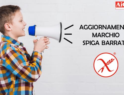 Aggiornamento Marchio Spiga Barrata – 08.10.20