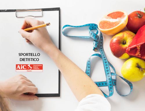 Nuovi appuntamenti Sportello Dietistico