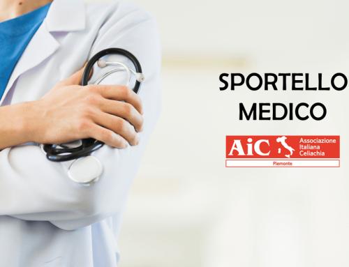 Sportello medico – Marzo/Aprile