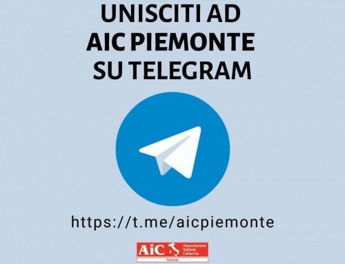AIC Piemonte su Telegram