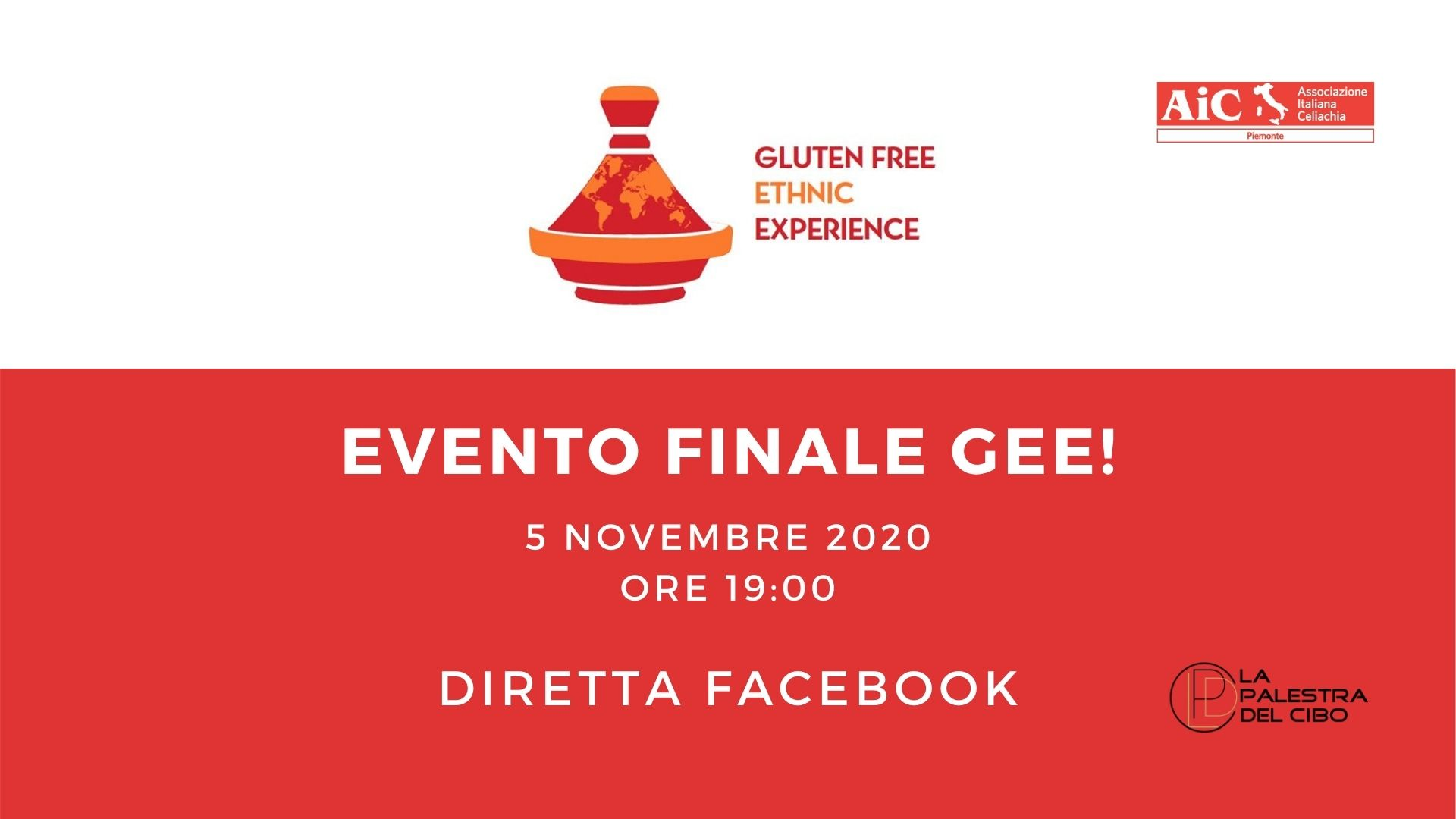 EVENTO FINALE GEE!