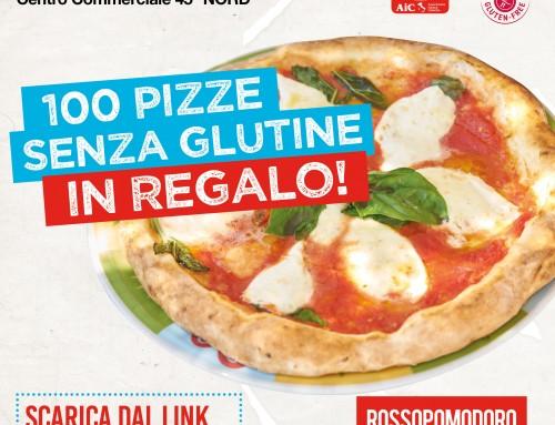 100 pizze senza glutine omaggio da Rossopomodoro Moncalieri